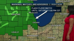 Scattered Showers, Storms on Tap All Weekend
