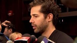 Crawford, Kane Discuss Goaltender's Return to Ice
