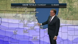 Saturday Forecast: Snow Heading Our Way