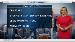 Chicago Weather: Showers & Thunderstorms Possible