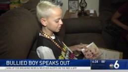 Bullied Boy Meets Gwen Stefani