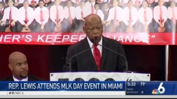 Rep. John Lewis Speaks at Miami MLK Event