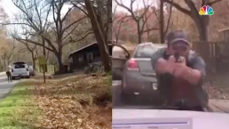 Wild Arkansas Shootout Caught on Camera