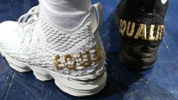LeBron James Donates Equality Sneakers to Smithsonian