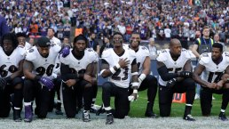 See It: NFL Players Kneel for Anthem After Trump's Criticism