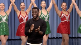 'Tonight': Kevin Hart and the Radio City Rockettes