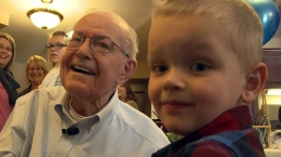 WWII Vet and Unlikely Friend, Together Again