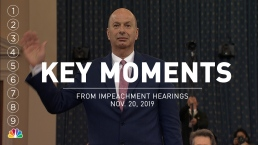Key Moments From Impeachment Hearings With Gordon Sondland, Laura Cooper