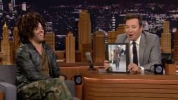 'Tonight': Lenny Kravitz Reacts to His Giant Scarf Meme
