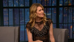 'Late Night': Laura Dern Pays Homage to Carrie Fisher