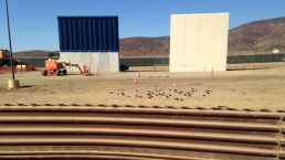 An Up-Close Look at the US-Mexico Border Wall Prototypes