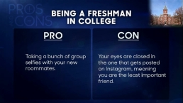'Tonight Show': Pros and Cons of Being a Freshman