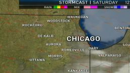 Saturday's Forecast: Mostly Sunny & Hot, Cooler Lakefront