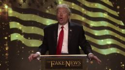 'Tonight': Trump's Fake News Awards