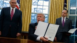 Trump Signs Executive Order on TPP