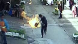 Man Acts Fast to Save Neighbors During Gas Fire