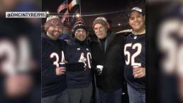 Bears Fans Meet Former Hawks Coach