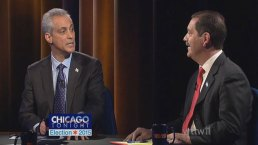 Emanuel, Chuy Spar in Final Debate