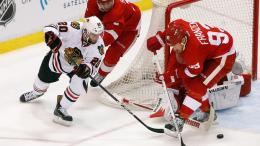 Hawks vs. Wings: Three Stars of Game 3