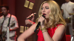 "Karmin Performs ""I Want It All"" on ""Late Night"""