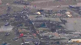 "WATCH: ""Major Damage"" as Tornado Rips Through Oklahoma City Area"