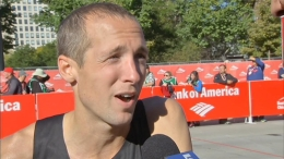 Dathan Ritzenhein Talks About His Cramp Troubles