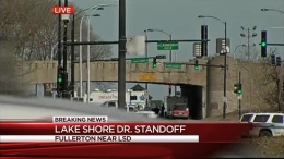 Police Standoff Following Chase on Lake Shore Drive