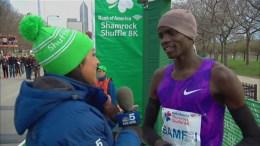 Defending Champ Stephen Sambu Wins 2016 Shamrock Shuffle