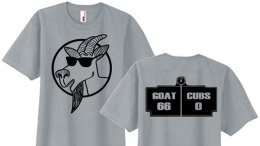 """Respect the Goat"" T-Shirt Surfaces on Web"