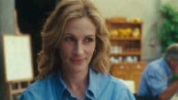"Julia Roberts' ""Eat, Pray, Love"" Trailer Drops"