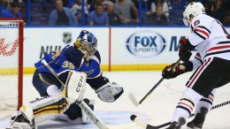Hawks, Blues Head Into Overtime