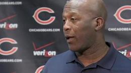 RAW: Lovie Smith on Jay Cutler's Injury