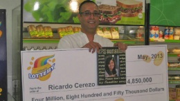 Man Finds $4.85 Million Lotto Ticket in Cookie Jar