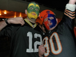 Photos: The Chicago Cheesehead Invasion
