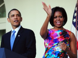 Michelle Obama Style Guide: Festive Colors for Cinco de Mayo