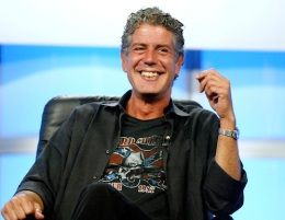 Anthony Bourdain Fantasizes About a Kitchen Threesome With April Bloomfield, Keith Richards