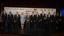 First GOP Debate Lineup Set; Perry, Fiorina, Santorum Miss Out