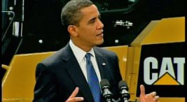 Obama Digs Caterpillar Stimulus Plan