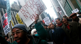 Sharpton, Protesters Demand Cartoon Apology