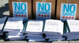 """No Games Chicago"" Gets Help from Olympic Competition"