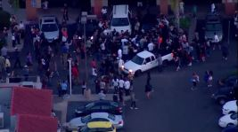 Crowd Protests San Diego-Area Police Shooting