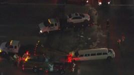 L.A.-Area Limo Crash Leaves 11 Injured
