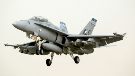 Military Jet Makes Emergency Landing at Midway