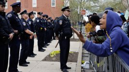 Crowds in Baltimore Protest Freddie Gray's Death