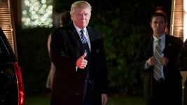 Trump Attends Lavish 'Villains and Heroes' Costume Party