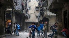 Russia Announces Humanitarian Operation in Syria's Aleppo
