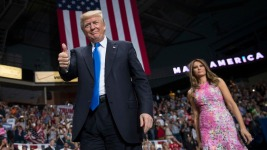 Trump Takes Victory Lap at Ohio Campaign Rally