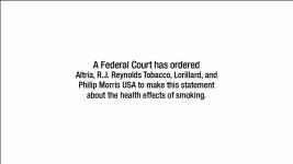 Big Tobacco's Anti-Smoking Ads Begin After Decade of Delay