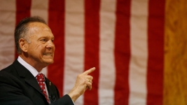 Moore Tells Supporters 'Battle Is Not Over' in Ala. Race