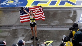Linden Wins Boston Marathon, 1st US Woman in 33 Years